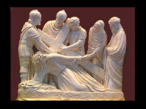 The Seventh Station of the Cross