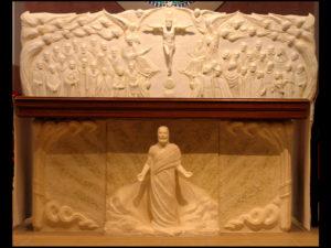 Altar Wall & Altar Front
