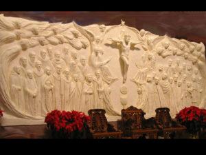 Altar Wall (Reredos)